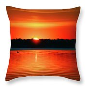 Dawn Early Light Throw Pillow