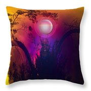 Dawn In A New Era Throw Pillow