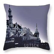 Dawn In Lucerne Throw Pillow