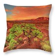 Dawn Light Capitol Reef National Park Utah  Throw Pillow