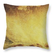 Dawn Of A New Day Texture Throw Pillow
