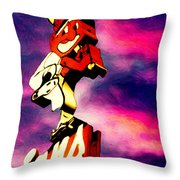 Dawn Of Another Season Throw Pillow