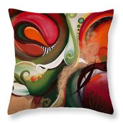 Dawn Of Creation Throw Pillow