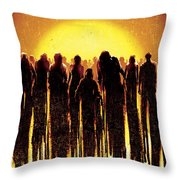 Dawn Of The Dead 2004 Throw Pillow