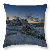 Dawn On Sentinel Throw Pillow