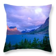 Dawn On St. Mary Throw Pillow