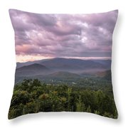 Dawn On The Foothills Parkway Throw Pillow by Jemmy Archer