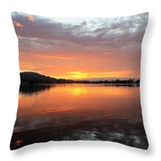 Dawn Panorama Throw Pillow