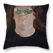 Dawn Reflects Throw Pillow