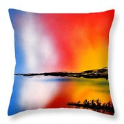 Dawn Twilight Throw Pillow