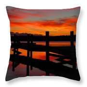 Dawning Brilliance  Throw Pillow