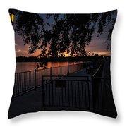 Dawns Light Throw Pillow