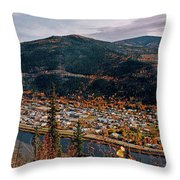 Dawson City - Yukon Throw Pillow