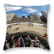 Day At The Park Throw Pillow