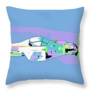 Day Flight Throw Pillow