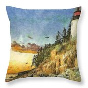 Day Is Done 2015 Throw Pillow