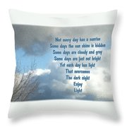 Day Light Throw Pillow by Leona Atkinson