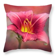 Day Lily Deep Throw Pillow