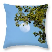 Day Moon #2 Throw Pillow