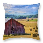 Day Of August Throw Pillow