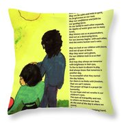 Day Of Hope Throw Pillow