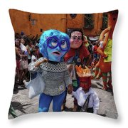 Day Of The Crazies 2017 Throw Pillow
