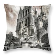 Day Of The Dead Alter Throw Pillow