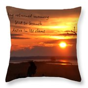 Day Returned Memory Throw Pillow