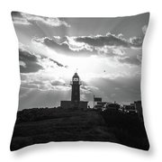 Day Turns Night Throw Pillow