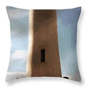 Daybreak At Pigeon Point Throw Pillow
