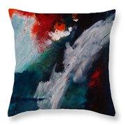 Daybreak At The Falls Throw Pillow