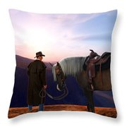 Daybreak Throw Pillow by Corey Ford