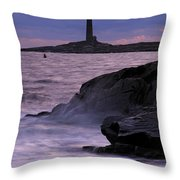 Daybreak Near The North Tower Throw Pillow