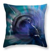 Daydream Throw Pillow by Lauren Radke