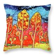 Daydream Park Throw Pillow