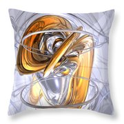 Daydreamers Abstract Throw Pillow