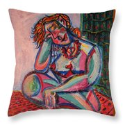 Daydreaming In Color Throw Pillow