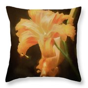 Daylily Dream Throw Pillow