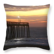 Day's Beginnings Throw Pillow