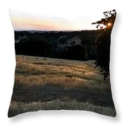 Day's End In Ten Throw Pillow