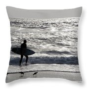 Days Of Summer Throw Pillow