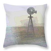 Days Of Wind Throw Pillow