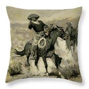 Days On The Range Throw Pillow