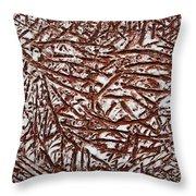 Days Work - Tile Throw Pillow