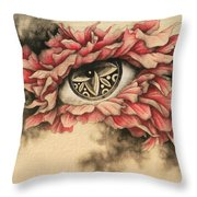Dazzle And Blossom II Throw Pillow