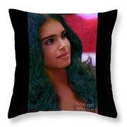 Dazzling Beauty Throw Pillow