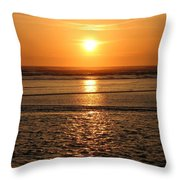 Dazzling Cannon Beach Throw Pillow