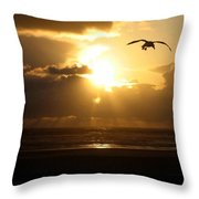 Dazzling Dusk Throw Pillow