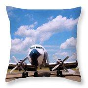 Dc 7 Throw Pillow