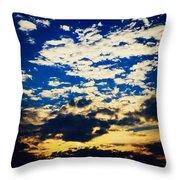 Dc Sunset Throw Pillow